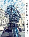 prague  czech republic   march...   Shutterstock . vector #1128907526