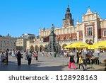 krakow  poland   april 29  2012 ... | Shutterstock . vector #1128928163