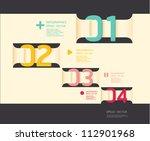 modern soft color design... | Shutterstock .eps vector #112901968