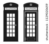 London Phone Booth  Cabin Icon  ...