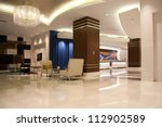 Stock photo modern lobby for five stars hotel 112902589