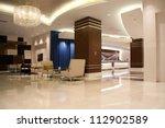 Stock photo modern lobby for five stars hotel 112902589