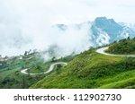 Mountain Road  Thailand