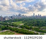 aerial view of toronto city... | Shutterstock . vector #1129029230