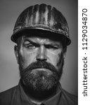 man builder. business  building ... | Shutterstock . vector #1129034870