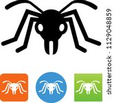 vector ant icon | Shutterstock .eps vector #1129048859