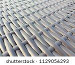rattan texture pattern... | Shutterstock . vector #1129056293