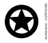sheriff or texas ranger wild... | Shutterstock .eps vector #1129076180