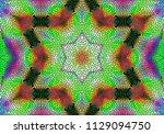 creative decorative background. ... | Shutterstock . vector #1129094750