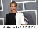 los angeles   feb 10   beyonce... | Shutterstock . vector #1129097909