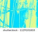 abstract halftone illustration  ...   Shutterstock . vector #1129101833