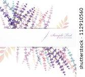lavender background | Shutterstock .eps vector #112910560
