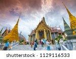 thailand bangkok  8 july 2018   ... | Shutterstock . vector #1129116533
