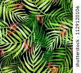 seamless watercolor pattern ... | Shutterstock . vector #1129120106