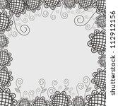 vector illustration of floral... | Shutterstock .eps vector #112912156