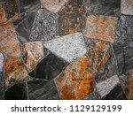 patterned tile flooring mimics... | Shutterstock . vector #1129129199