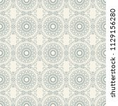 seamless floral wallpaper... | Shutterstock .eps vector #1129156280