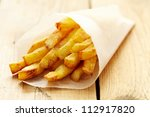 french fries | Shutterstock . vector #112917820