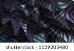 abstract 3d rendering of... | Shutterstock . vector #1129205480