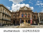 catania  sicily  italy   march... | Shutterstock . vector #1129215323
