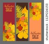abstract vector illustration... | Shutterstock .eps vector #1129226153