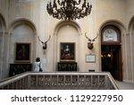 dunrobin castle  scotland  ... | Shutterstock . vector #1129227950