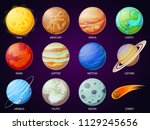 Cartoon Solar System Planets....