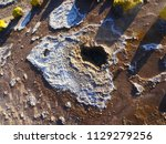 close up picture of a geyser... | Shutterstock . vector #1129279256