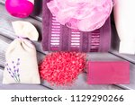 accessories for hygenic and... | Shutterstock . vector #1129290266