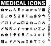 medical icons | Shutterstock .eps vector #112929070