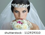 Portrait Of Beautiful Bride....