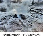 close up picture of an active... | Shutterstock . vector #1129305926