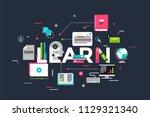 modern vector illustration... | Shutterstock .eps vector #1129321340