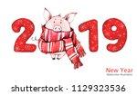 2019 Happy New Year Banner....