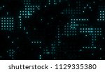 digital structure of many...   Shutterstock . vector #1129335380