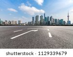 panoramic skyline and modern... | Shutterstock . vector #1129339679
