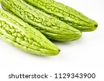 momordica charantia balsam... | Shutterstock . vector #1129343900