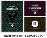 cover templates set  vector... | Shutterstock .eps vector #1129353230