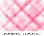 abstract plaid hand drawn... | Shutterstock . vector #1129359410