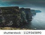cliffs of moher during a storm | Shutterstock . vector #1129365890