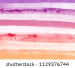 abstract aquarelle texture in... | Shutterstock . vector #1129376744