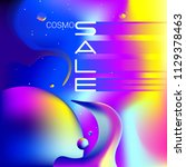 banner sale in the style of the ... | Shutterstock .eps vector #1129378463