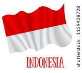17 august  indonesia... | Shutterstock .eps vector #1129428728