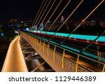 halic metro bridge in istanbul... | Shutterstock . vector #1129446389