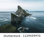 abstract rock formations and an ... | Shutterstock . vector #1129459970
