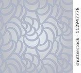 vector seamless abstract hand... | Shutterstock .eps vector #112947778