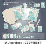 vector corporate design for... | Shutterstock .eps vector #112948864