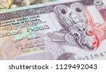banknotes of the sri lanka | Shutterstock . vector #1129492043