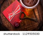 london  uk   april 27  2018 ... | Shutterstock . vector #1129505030