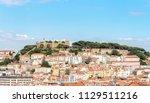 sao jorge castle  lisbon   Shutterstock . vector #1129511216